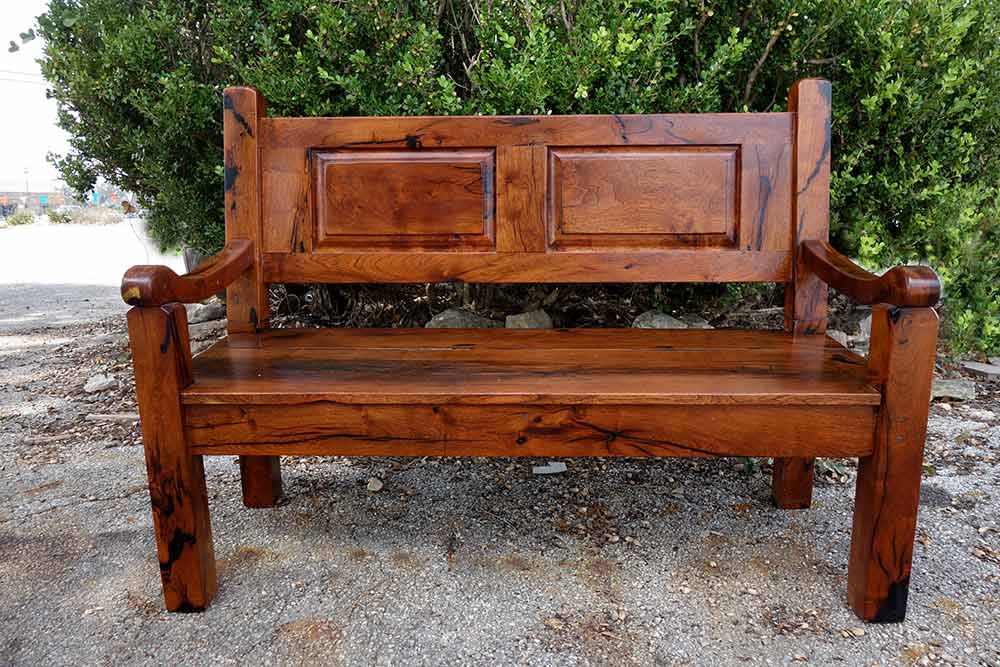 Ranch Rack Mesquite Benches